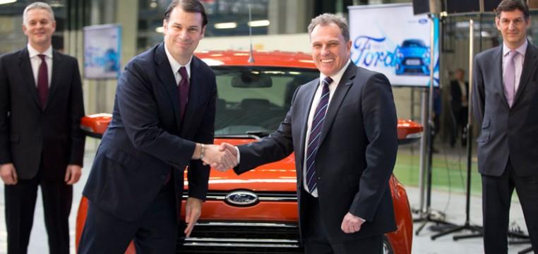 Ford EcoSport Craiova plant