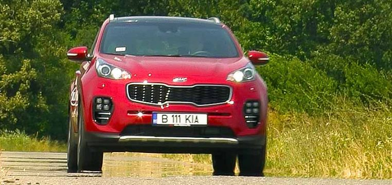 Kia Sportage 1.6l T-GDi DCT 4x4 GT Line
