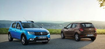 Dacia new models Paris 2016