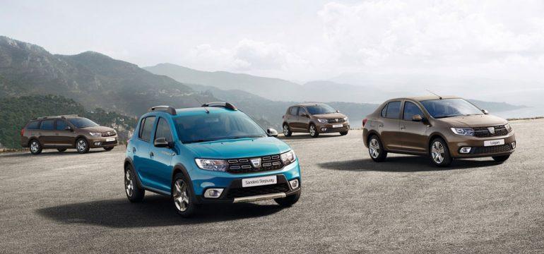 Dacia: noile modele Sandero, Sandero Stepway, Logan si Logan MCV