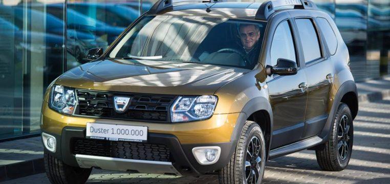 Dacia Duster 1 000 000
