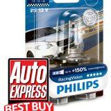 5 stele pentru gama de becuri auto Philips Vision Racing
