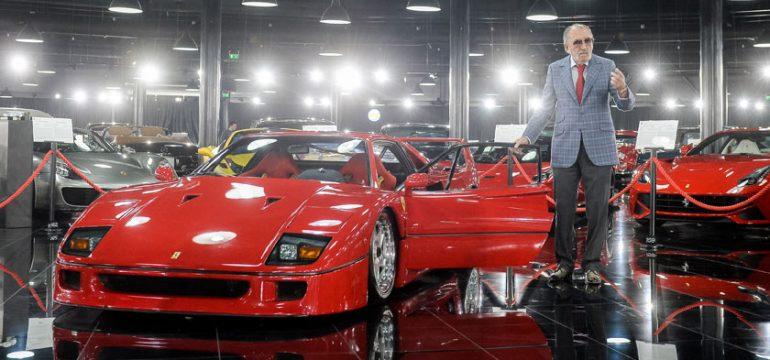 Un Ferrari F40 din anul 1989 este cel mai nou exponat din cadrul Țiriac Collection