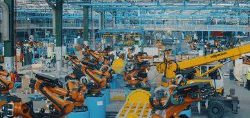 Roboti-fabrica-Ford-Craiova EcoSport 2017