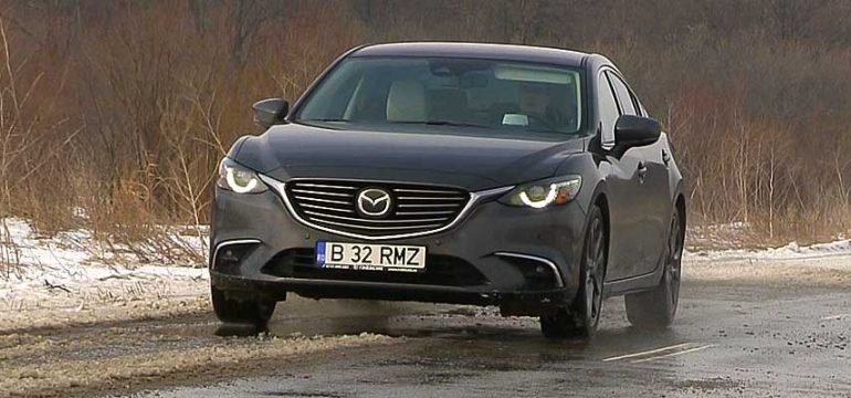 Mazda 6 Sedan G 192 2.5l AT6 Revolution Top