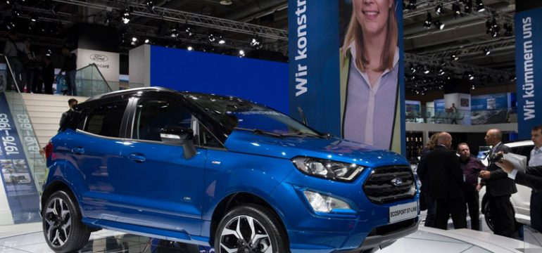Startul productiei Ford EcoSport la fabrica de la Craiova