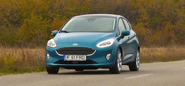 Ford Fiesta 1.0l EcoBoost AT6 Titanium