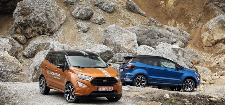 Prim contact noul Ford EcoSport
