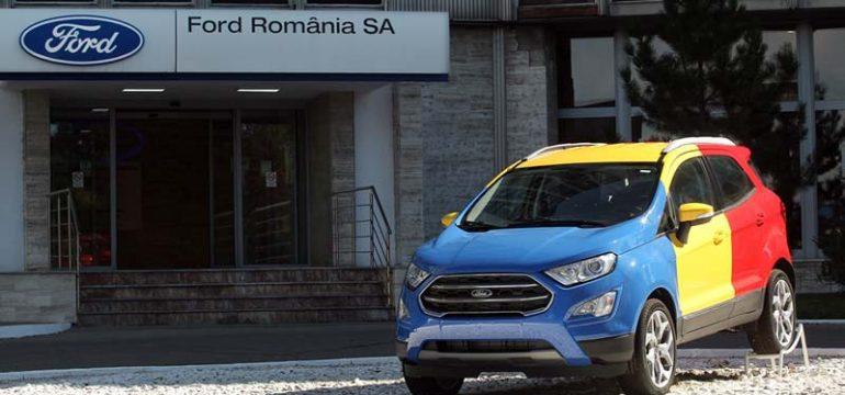 Ford va produce un al doilea model la Craiova