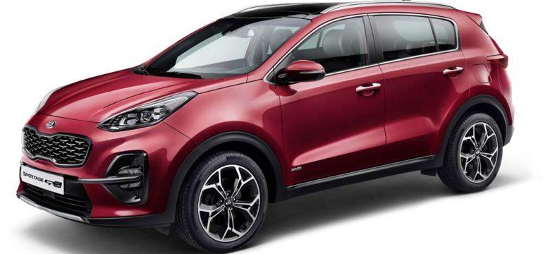 Kia Sportage facelift 2018