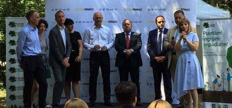 Fundaţia Groupe Renault România la debut:  acţiuni de împădurire cu impact naţional