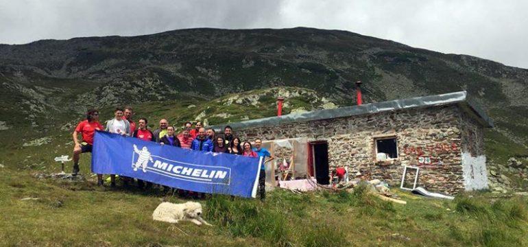 Michelin adopta refugiul Iezer