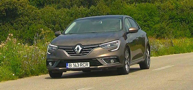 Renault Megane Sedan 1.2l TCe EDC7 Intens