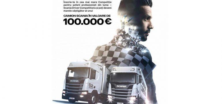 Scania Driver Competitions și-a desemnat cei 5 finaliști regionali care vor merge la Finala Națională