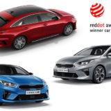 Premiile Red Dot 2019: un nou triumf triplu pentru designul Kia
