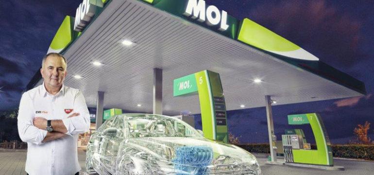 Titi Aur recomandă carburanţii MOL EVO