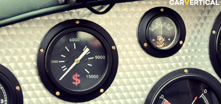 carVertical odometer