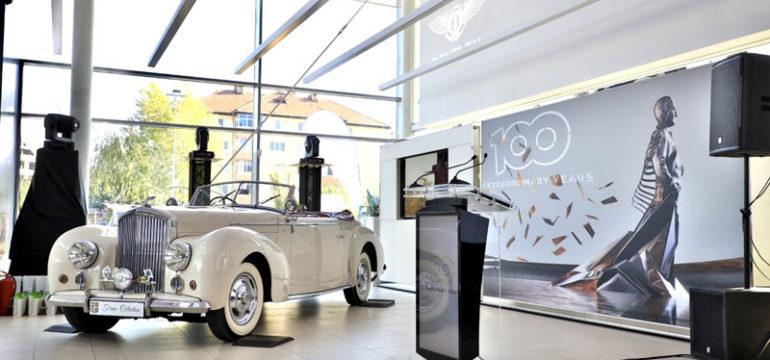 Bentley Bucuresti: showroom complet redecorat
