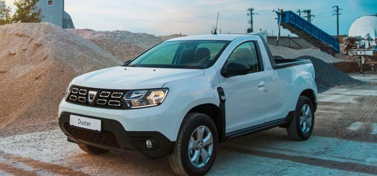 Dacia lanseaza versiunea Duster PICK-UP