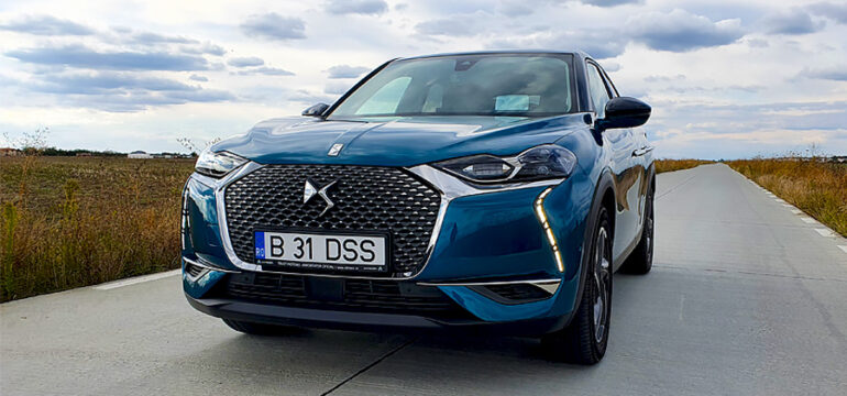 DS3 Crossback 1.2l PureTech 155 EAT8 GRAND CHIC