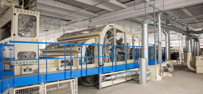 MINET a lansat cea mai modernă linie de producție de textile nețesute din Europa de Sud Est